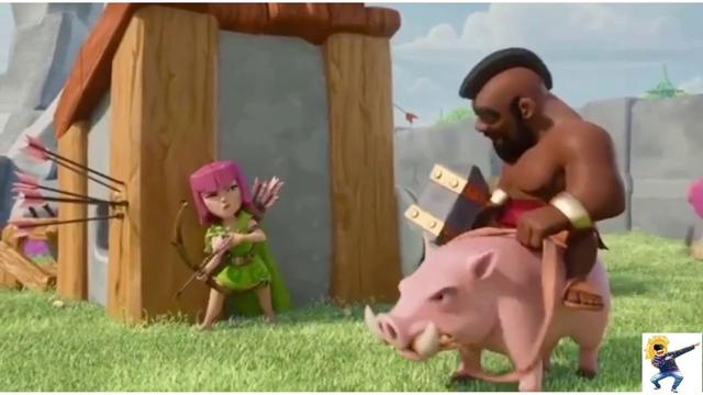 Hog Rider || Clash Of Clans || Real life pro Hog Rider