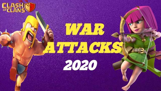 clash of clans war attack 2020-sk myselfgaming