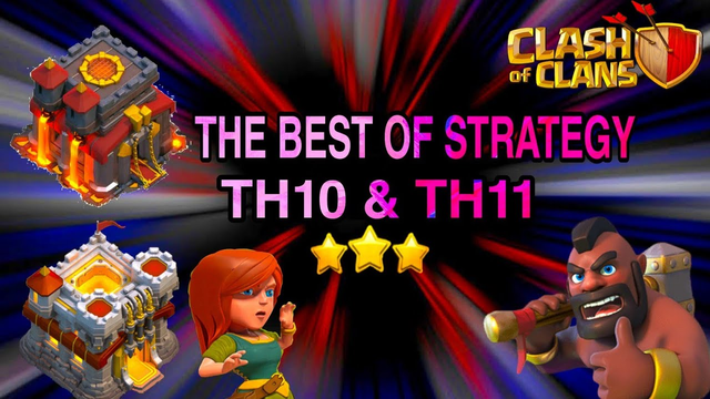 POWERFUL AND EASY ARMY ! TH10 & TH11 BEST 3 STAR CWL ATTACK STRATEGY CLASH OF CLANS