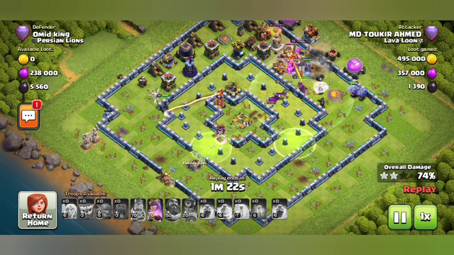 Clash Of Clans |TOWN HALL 13 |LEGEND League | Ground 3Star Attack Strategy |YETI attack