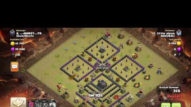 Clash of clans @sumit007 th5 vs th9 war attack stratergy