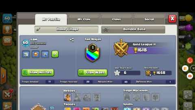 Plz join my clan and friend me (Clash of Clans)