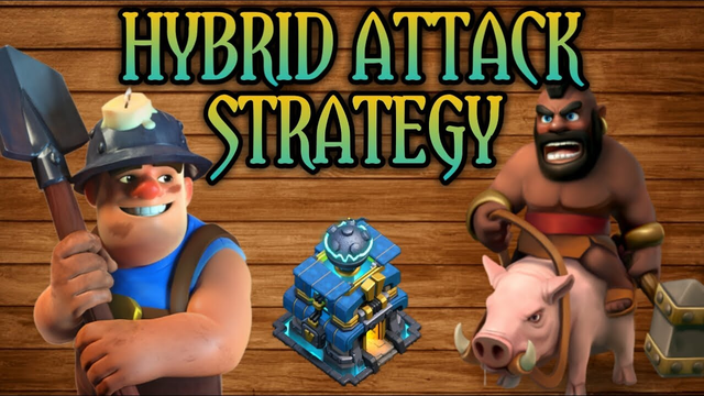 THE HYBRID ATTACK STRATEGY | Best attack strategy of TOWNHALL 12 | CLASH OF CLANS | 2020