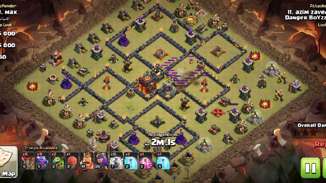Clash of clans | Best attack strategy for th 10 | easy to apply |dragon attack with ss