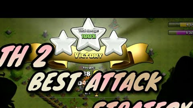 HOW TO PLAY COC !TH2 BEST ATTACK STRETEGY!