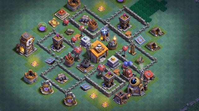 BEST BH6 ANTI EVERYTHING TROPHY[defense]Base 2020 Builder Hall 6 Trophy Base Design:) Clash of Clans