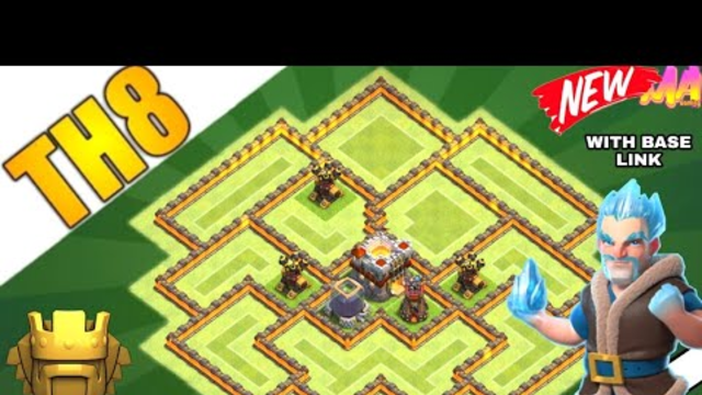 NEW ! TOWN HALL 8 FARMING / DEFENSIVE BASE (2020) | 100% TESTED BASE - Clash of clans