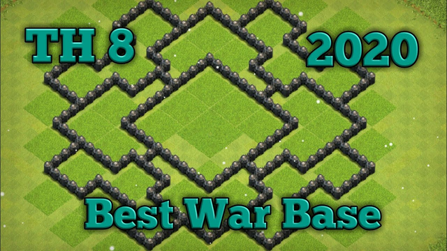 TH 8 Best War Base - Clash Of Clans