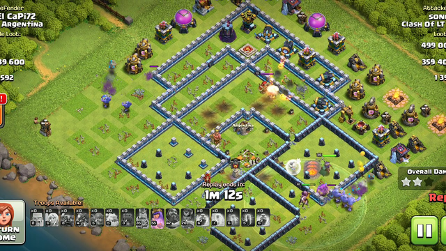 Coc best attack legend town hall 13