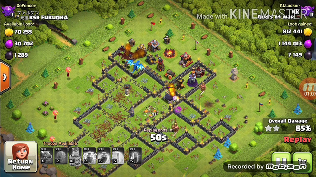 Th10 dragon attack | loot dumb base | clash of clans | 2 star minimum by this strategy