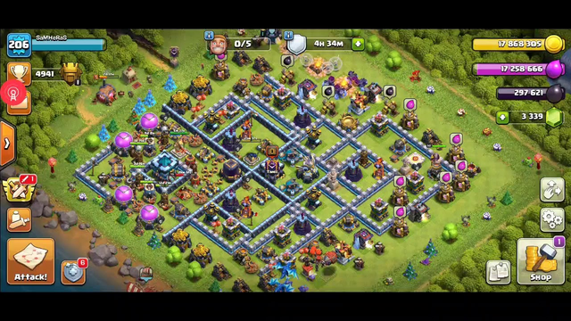 Clash of Clans no skill attack Tamilclan
