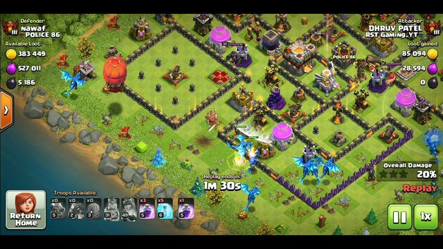 Electro dragon on TH11 | Best strategy attack|Clash of clans.