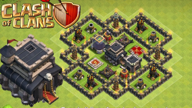 TH9 Most used base Clashofclans | Townhall9 base layout with link | coc bases