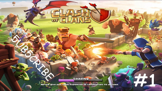 Clash Of Clans ep.1 ||The Beginning||