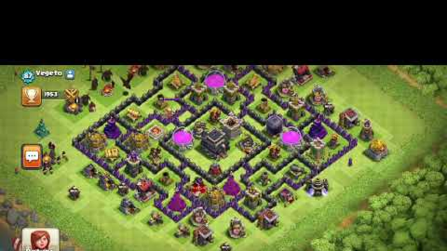 Good bye TH4 ... clash of clans