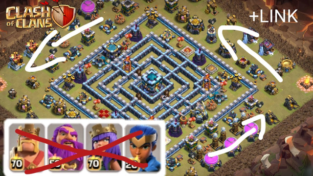 10 TOP RING BASES TH13 UPDATE CLASH OF CLANS