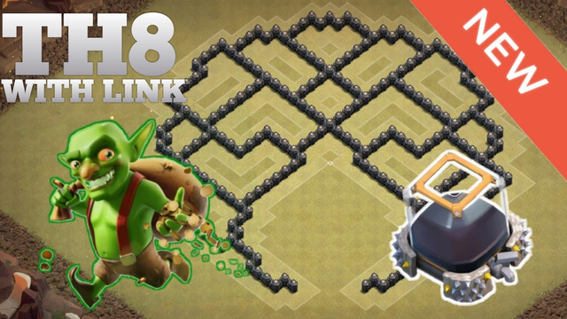 Clash of Clans | BEST Th8 Hybrid/Farming Base w/LINK 2020 | Clash of Clan base