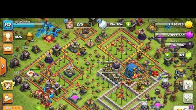 CLASH OF CLANS LIVE STREAN LETS ENJOY THE TH13