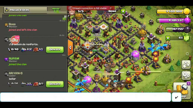 Watch me stream Clash of Clans on Omlet Arcade!