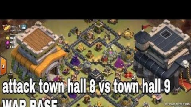 War Clan Coc || Th 8 Vs Th 9 || Clash Of Clans Indonesia