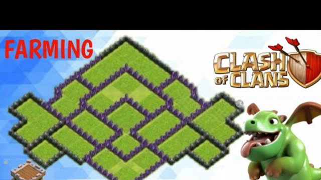 BEST FARMING BASE TOWNHALL 8 || TOWNHALL 8 BASE || CLASH OF CLANS BY SACCHI GAMING
