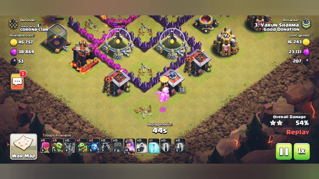 Clash of Clans Th9 Air Attack Startergy with no Maxed Troops