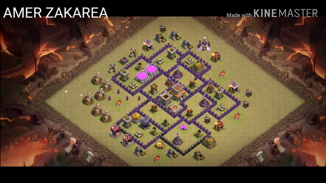 TOP 6 BEST WAR BASE TH 8 CLASH OF CLANS