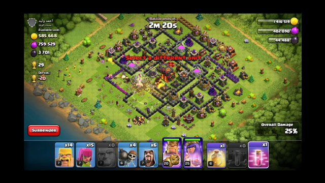 Loot Part 1, Th 10 Death Base || Clash of Clans || COC || Clasher Rock