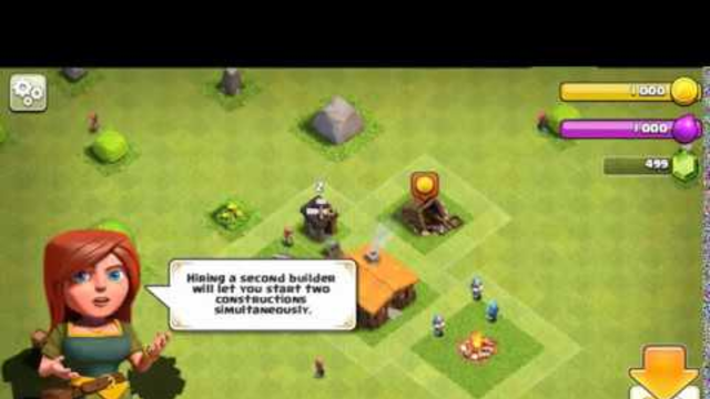 clash of clans gameplay episode 1 town hall 1 to 3