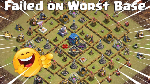 FAILED ON WORST BASE EVER Th1 | Worst Clan War League Attack | Clash Of Clans