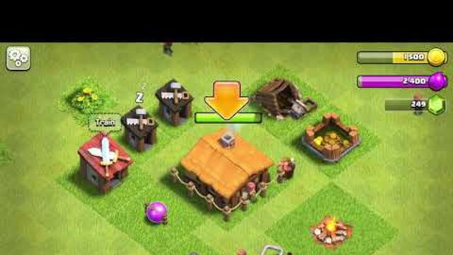 Clash of clans from TH1 to TH13 part 1