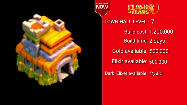 TOWNHALL 1 TO 13 LEVEL 5 ! CLASH OF CLANS WIKI