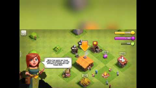 Starting a new journey from th1 in clash of clans.