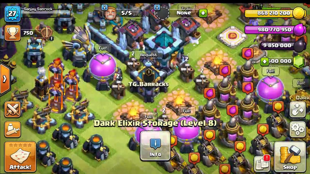 Clash of clans|Private server|Base Build From Th 1 To 13 Time lapse Part 1