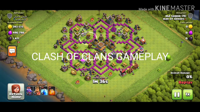 TH 8 Dragon Attack || CLASH OF CLANS