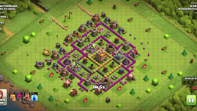 Mad loot from a th8 barch raid clash of clans
