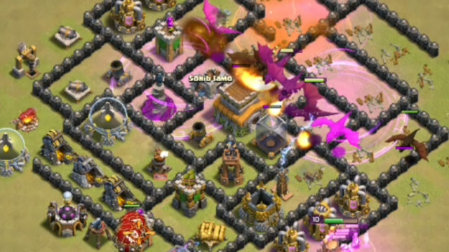 TH8 BEST DRAGON ATTACK STRATEGY   HOW TO USE TH8 DRAGON   CLASH OF CLANS