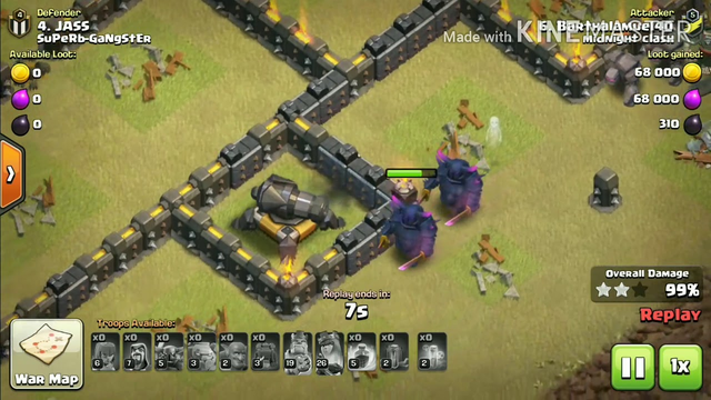 TH 8 IS AMAZING..(CLASH OF CLANS)