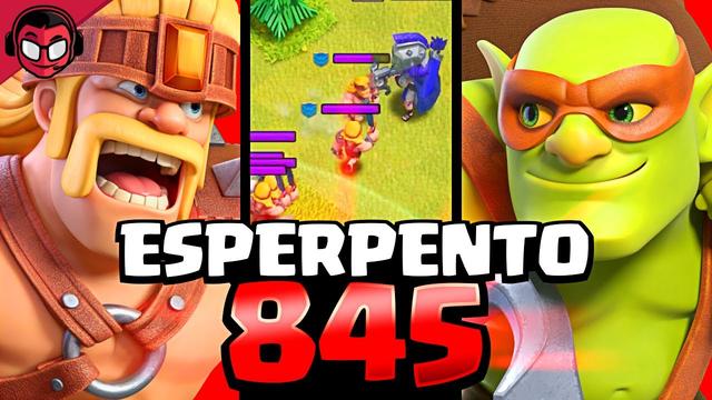 ESPERPENTO PRUEBA LAS SUPERTROPAS POR PRIMERA VEZ | Clash of Clans