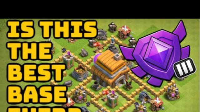 Top 4 TH5 bases (with links)                                                          Clash of Clans