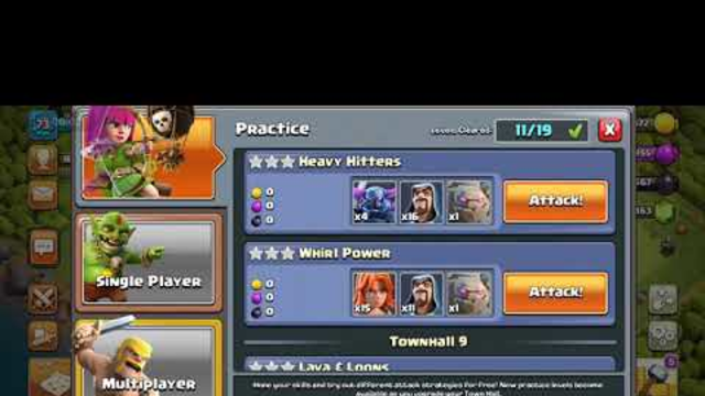 Clash Of Clans townhall 8 practice match / Heavy Hitters / Anish The Gamer