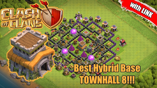 BEST Town Hall 8 (TH 8) Hybrid Base 2020!!! - Clash of Clans Indonesia