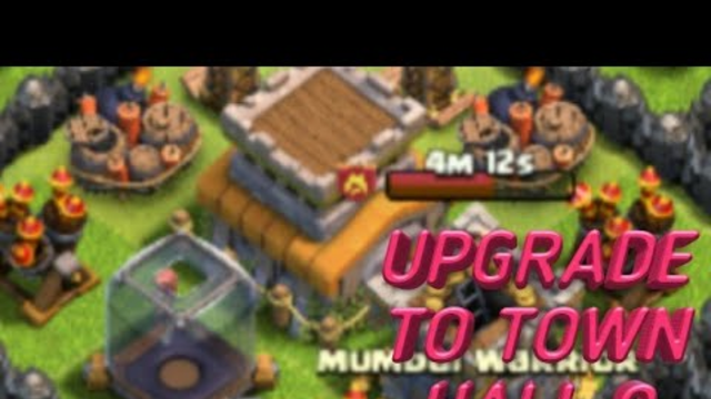 Town hall 8 upgrade to town hall 9 clash of clans