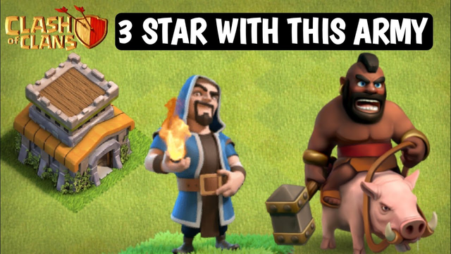 CLASH OF CLANS TOWN HALL 8 ATTACK STRATEGIE HOGS,WIZARDS,ARCHERS,HELL SPELL AND POISON SPELL 3 STAR