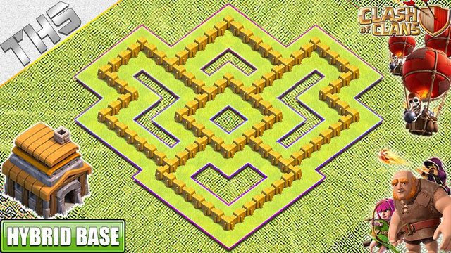 NEW TH5 Base with COPY LINK 2020 - Clash of Clans