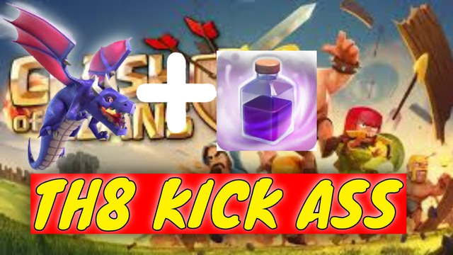How to kick town hall 8 (TH8) when you're in town hall 7 (TH7). Very easy | Clash of clans