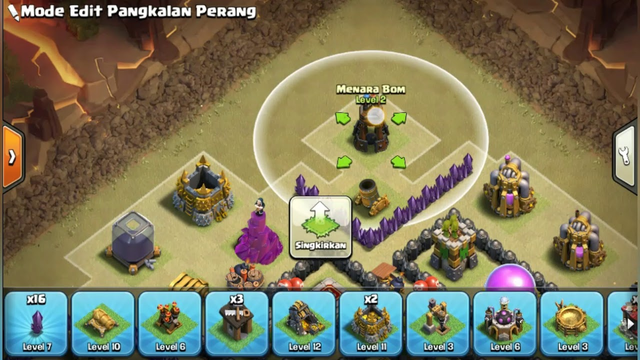 TOWN HALL 8 (Clash Of Clans) WAR BASE ANTI DRAGON (3 STARS)