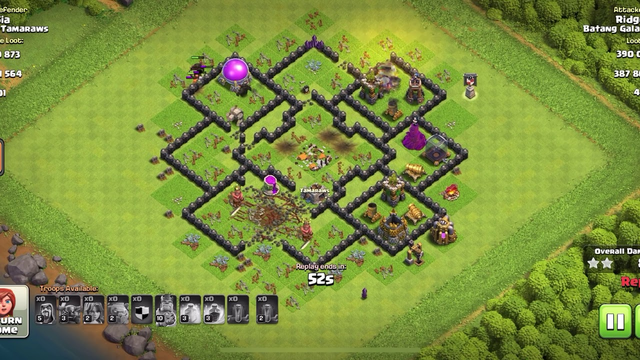 Clash of Clans TH 8 Govawipe Attack Strategy