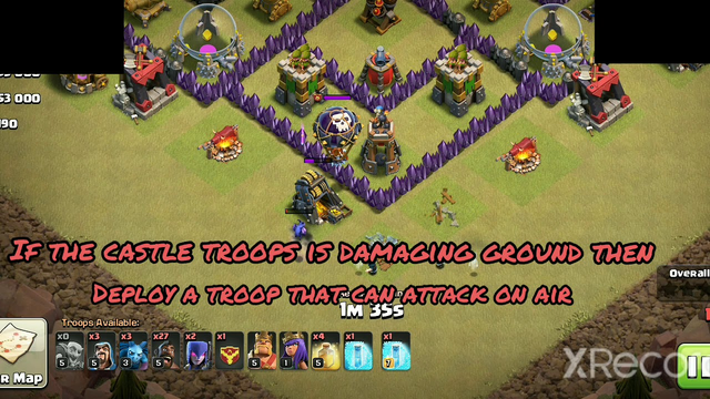 Clash of clans:How to attack In war with town hall 8. With proper instructions.How to get rid of Cc.