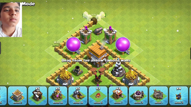 Best base (th5) Clash of Clans (COC)